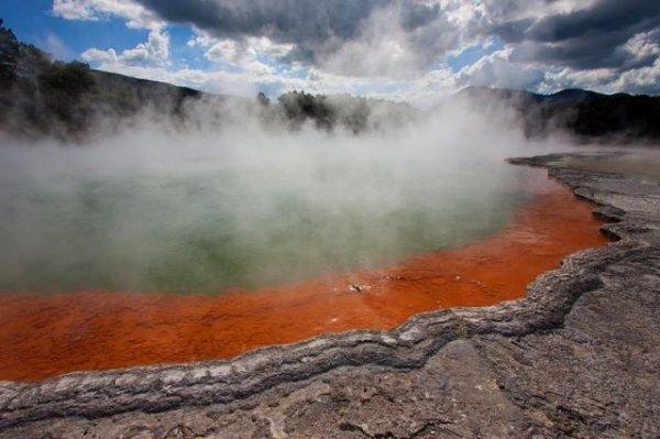 Бассейн в Новой Зеландии
