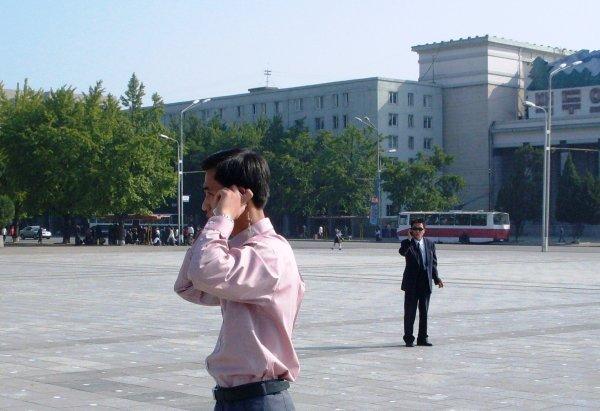 У Северной Кореи уже один миллион абонентов мобильной связи