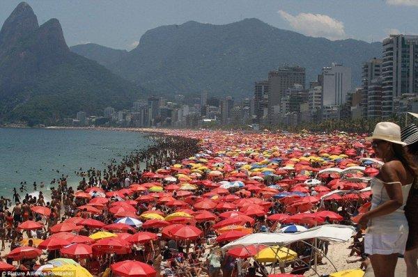 Жаркая зима в Рио