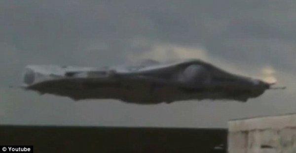 Посадка НЛО возле Нью-Мексико