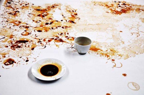 Кофе арт, а не шарф