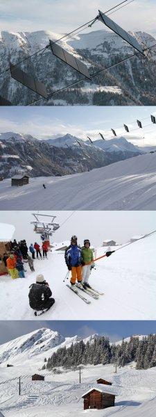 Швейцарцы превратили лыжный подъёмник в электростанцию