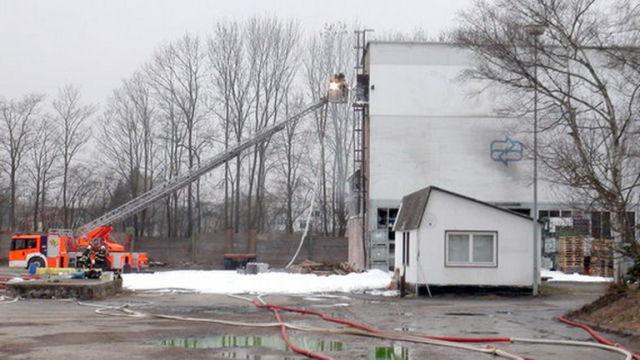 Утечка с химического завода в Германии