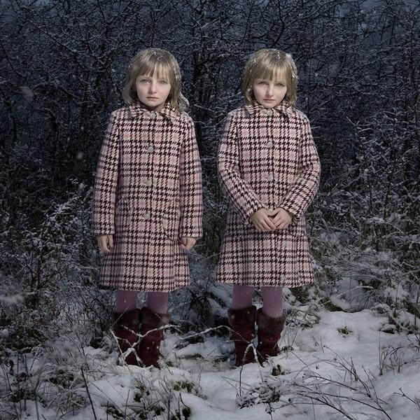 Потрясающие фото близнецов