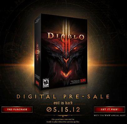 Дата релиза Diablo III названа официально
