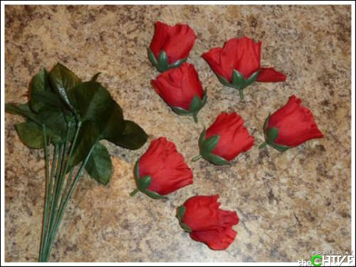 Удиви любимую - розы из бекона!