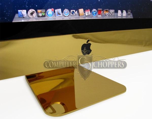Золотой iMac