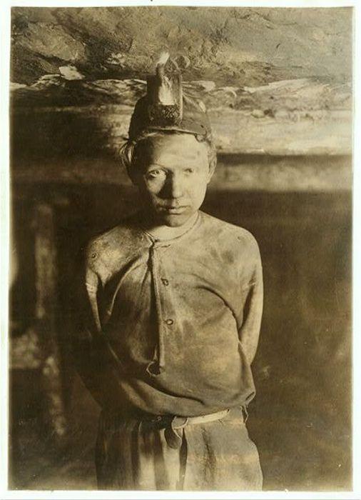 Дети-шахтеры