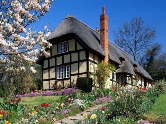 Соломенные крыши Англии