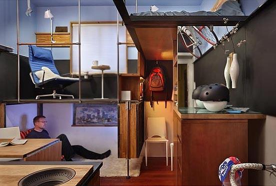 Как организовать пространство 1-комнатной квартиры