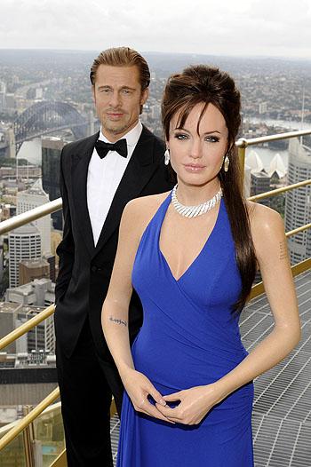 Джоли и Питт в Сиднее