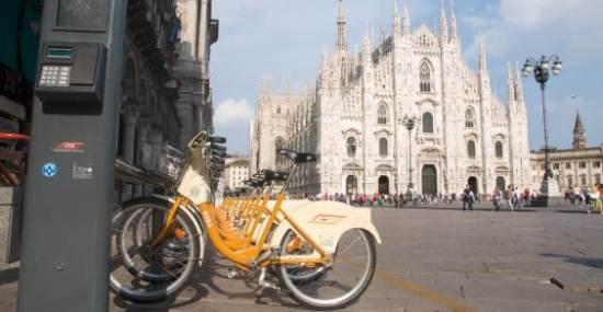 Велосипед признали самым быстрым видом транспорта в Милане