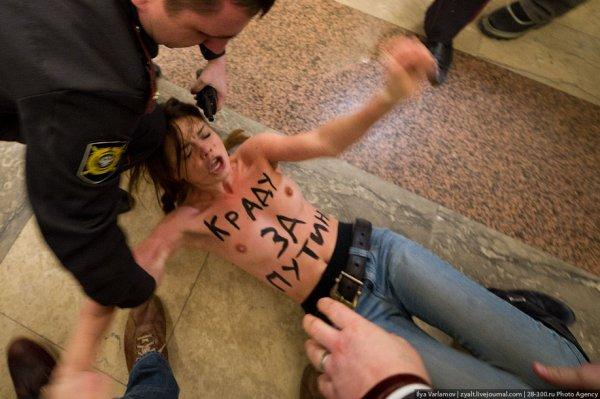 ���������� Femen ��������� �� ������� ������ (���������)