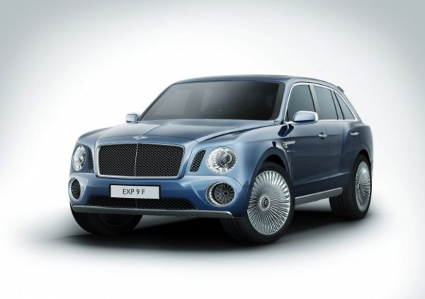 Bentley - the EXP 9 F Design Concept