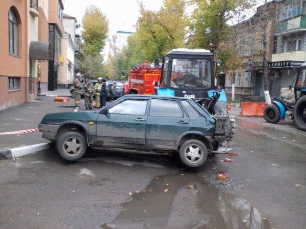 А нечего парковаться где попало!