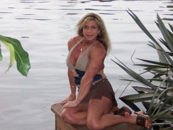 Мишель Брент - женщина-терминатор