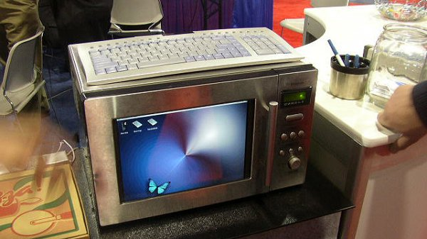 Компьютер-микроволновка