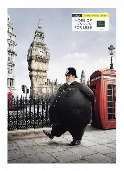 В Англии не любят толстых копов