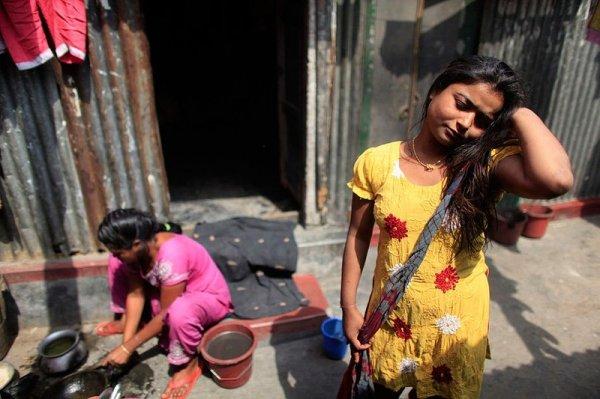 Жизнь малолетних проституток в Бангладеше