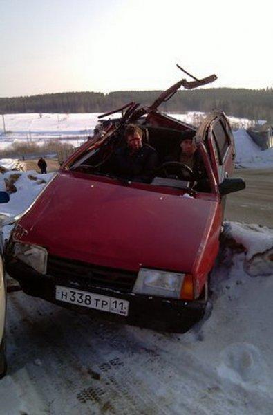 Крышу сносит пьяным водителям
