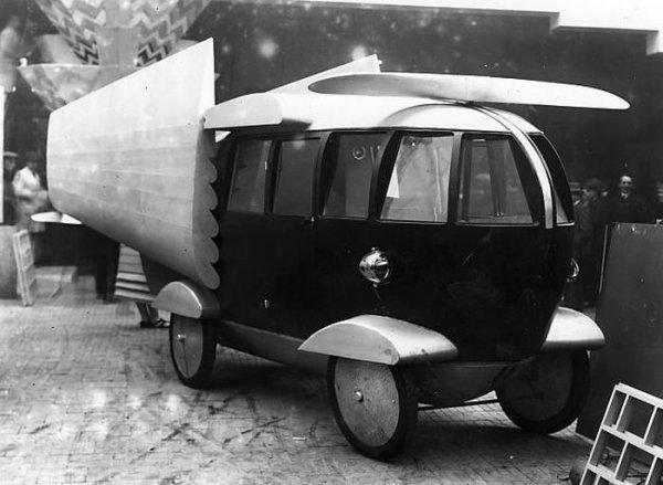 Необычные ретро-автомобили