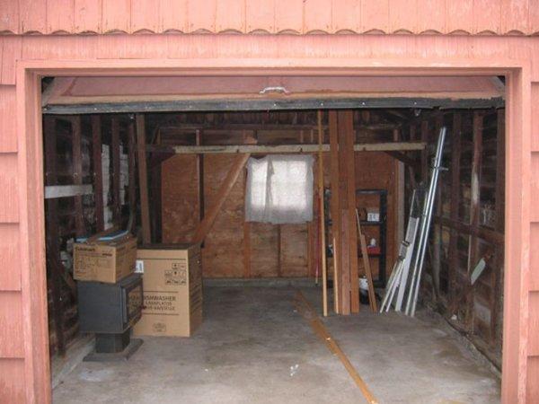 Дом из гаража
