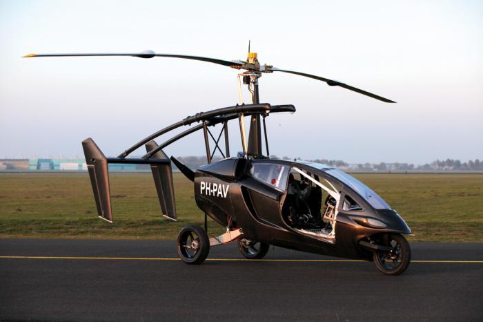 Летающий автомобиль из Голландии