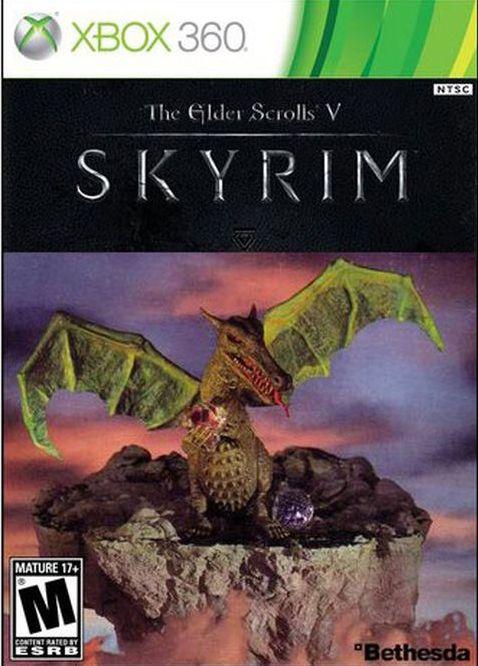 Старинные обложки для новых игр
