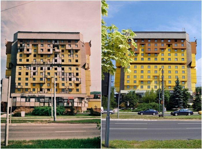 Сараево во время войны и после