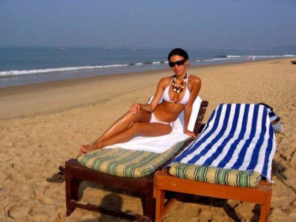 Летние пляжные красотки