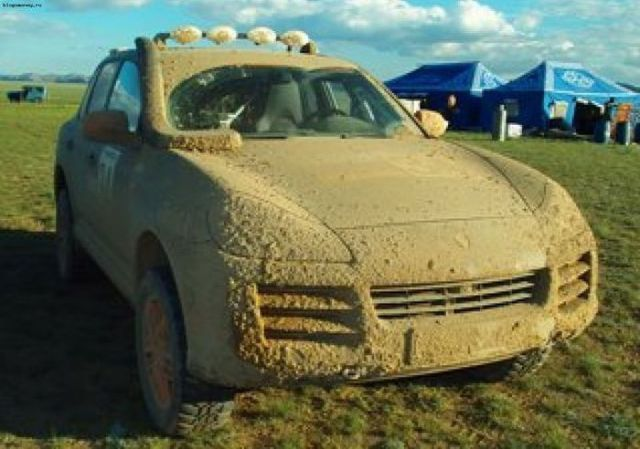 Танки грязи не боятся!