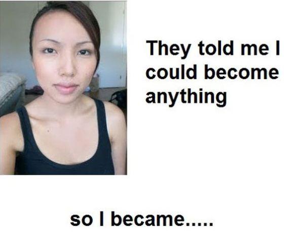 Китайские подделки из девушки