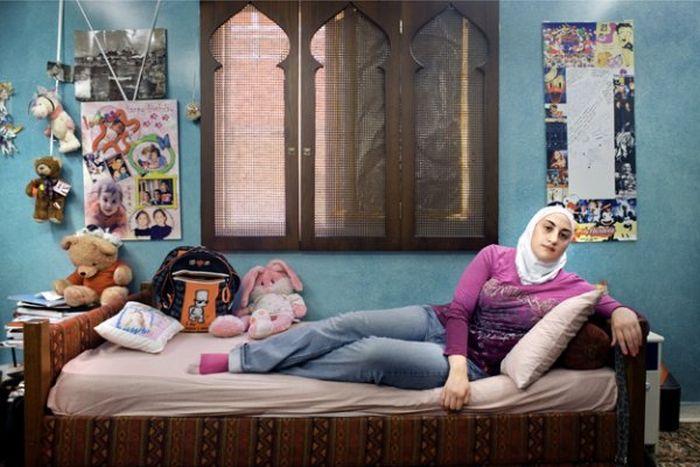 Комнаты девочек