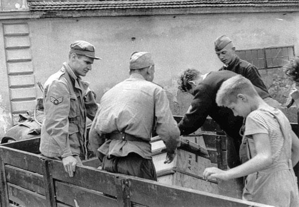 Советские войска в Австрии