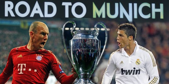 Лига Чемпионов УЕФА 2011/12! Полуфинал. Бавария Мюнхен - Реал Мадрид!