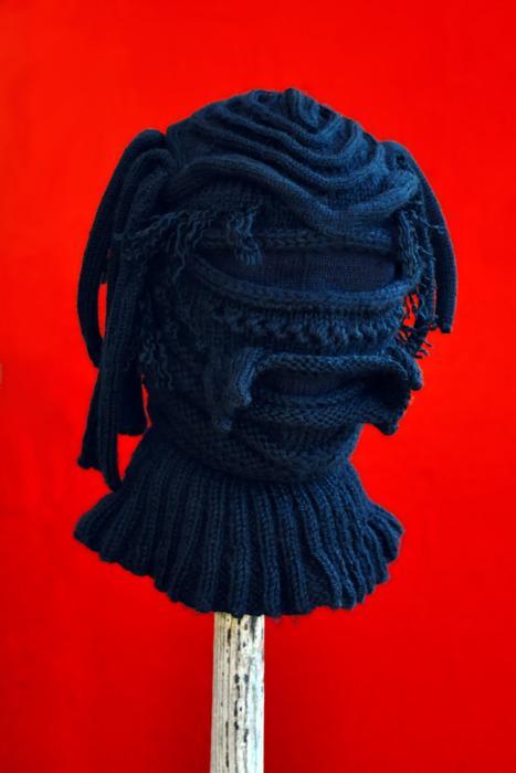 Невероятные вязаные шапки
