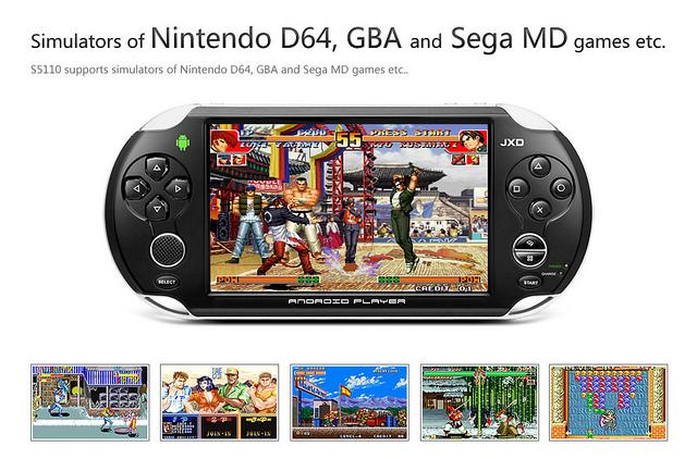 JinXing Digital JXD S5110 - китайская игровая консоль на базе Android