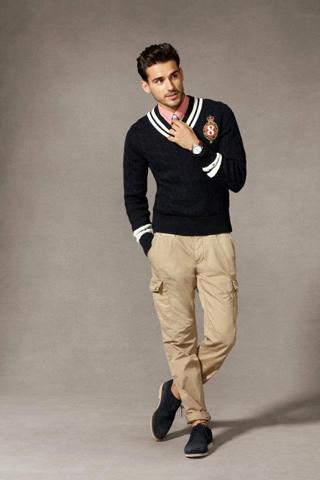 Модные мужские образы весна-лето 2012 от Tommy Hilfiger