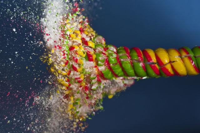 Высокоскоростные фото с пулями