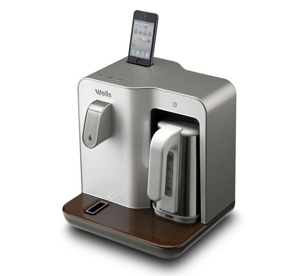 Док-станция с кулером и чайником для iPhone