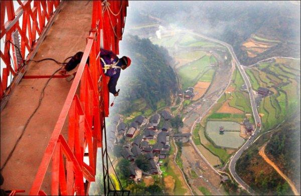 Китайский мост-рекордсмен