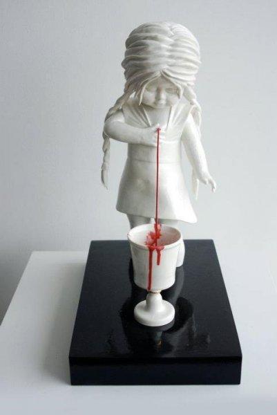 Фарфоровые страхи от Maria Rubinke