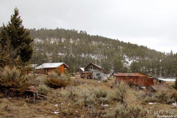 Заброшенный город в США