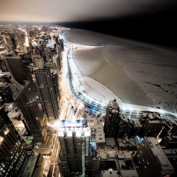 Чикаго на фото Джона Гаррисона