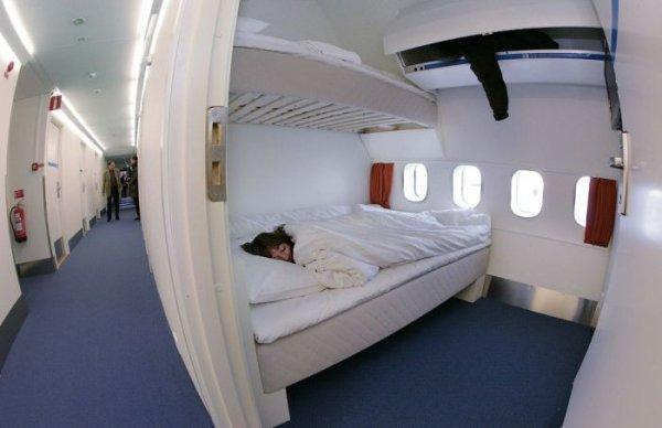 Хостел в старом самолете