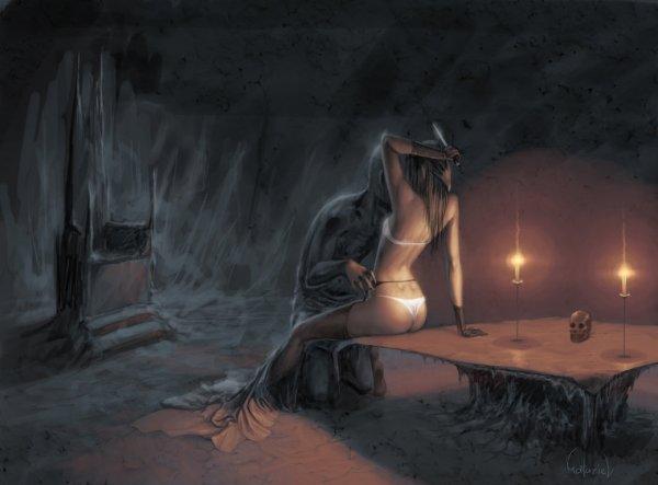 Иллюстратор под ником Matariil
