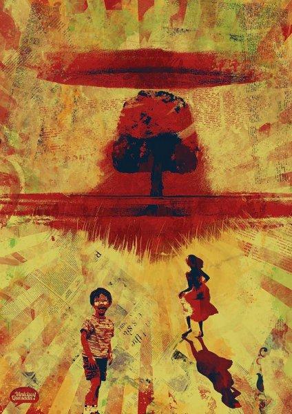 Картины кровью... Художник Vinicius Quesada