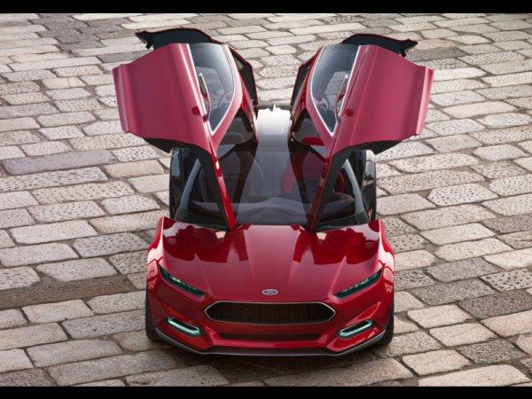 Новый Ford Mustang будет напоминать концепт Evos