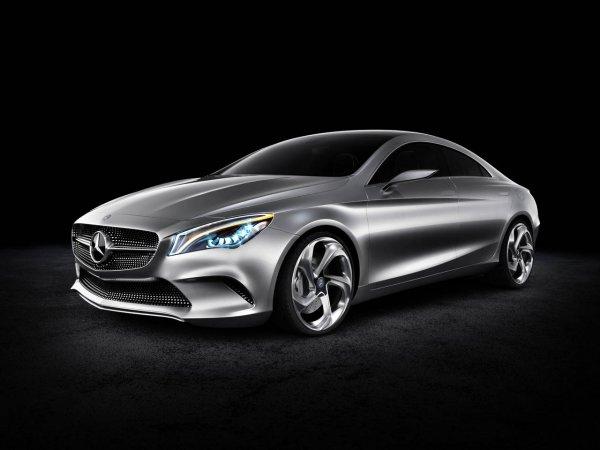 Mercedes представил Concept Style Coupé