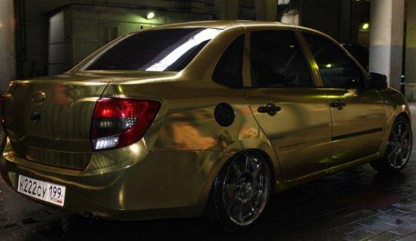 Золотая Лада Гранта